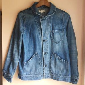 Joshua tree jean jacket in rossie wash